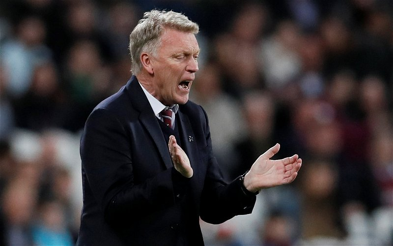 Image for West Ham fans on Twitter react as ExWHUemployee reveals David Moyes is safe