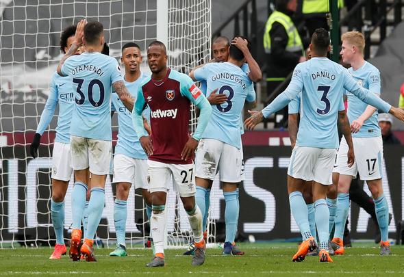 West Ham fans ensure Evra gets send off his performances warrant