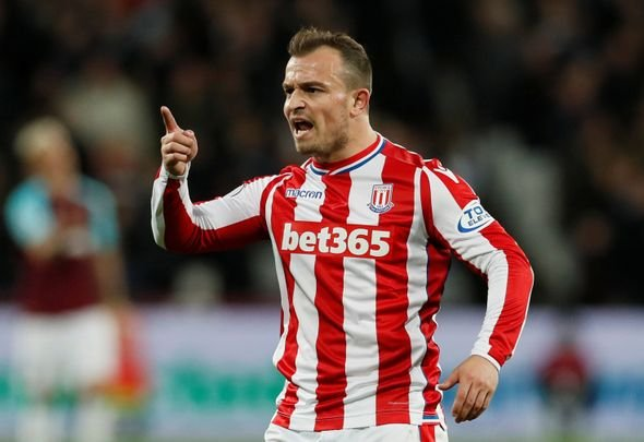 Shaqiri most likely to join West Ham