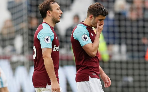 Image for Many West Ham fans destroy Cresswell for his display v Wolves