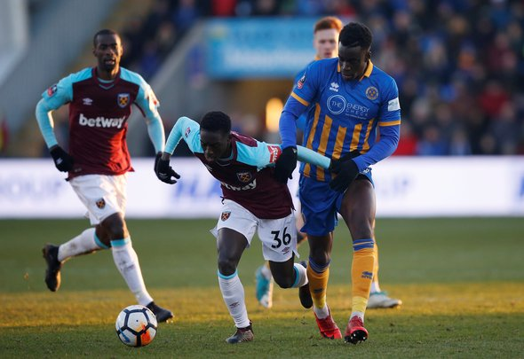 Some West Ham fans react to Quina exit