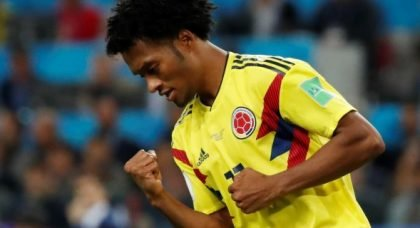 West Ham eye up move for Juan Cuadrado