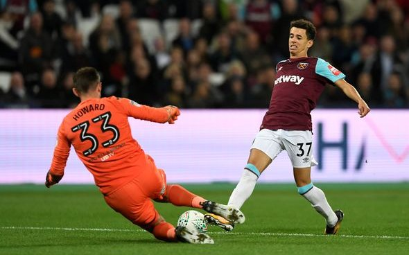 Image for West Ham fans want Nathan Holland back in east London