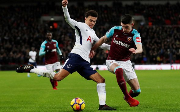 Image for West Ham fans jubilant over Spurs Carabao Cup tie