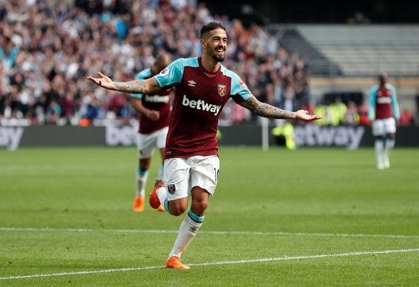 Lanzini making amazing progress in injury comeback