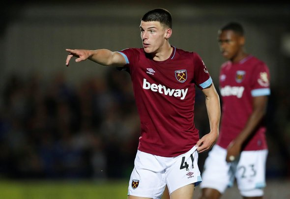 West Ham offered Rice new £40,000-per-week contract