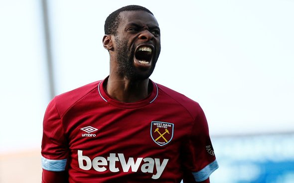 Image for West Ham fans getting mixed messages about Obiang