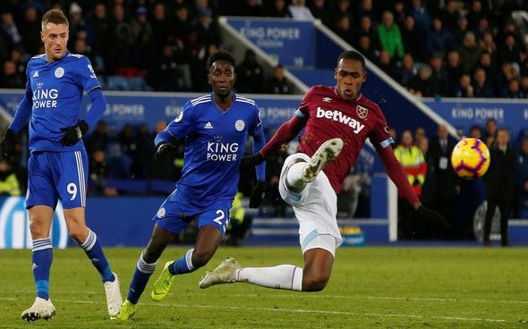 Image for Many West Ham fans rip into Diop at HT v Burnley