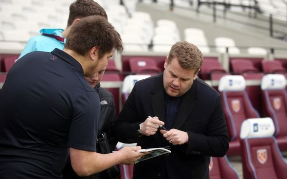 Image for Corden begs Hernandez to stay at West Ham