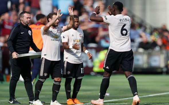 Image for Pogba and Martial ruled out v West Ham