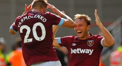 Noble: West Ham in fight for seventh