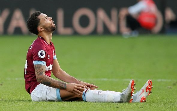 Image for Opinion: How double departure has left West Ham's squad stretched in vital area