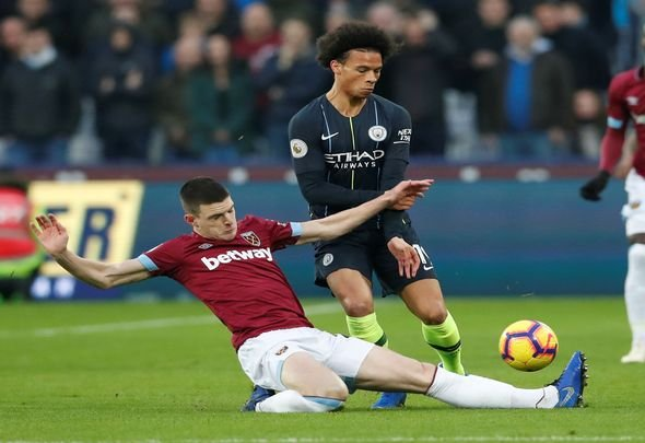 West Ham hand Declan Rice a £100m price tag