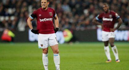 Hammers put £12m price tag on Hernandez