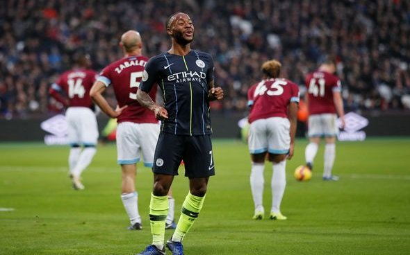 Image for West Ham fans react to Raheem Sterling injury on Twitter