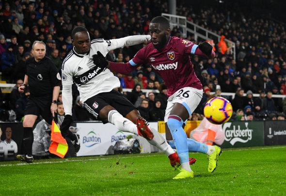 Image for West Ham fans slam Masuaku