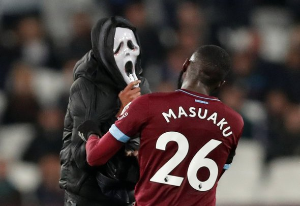 West Ham fans slate Masuaku at HT v Crystal Palace