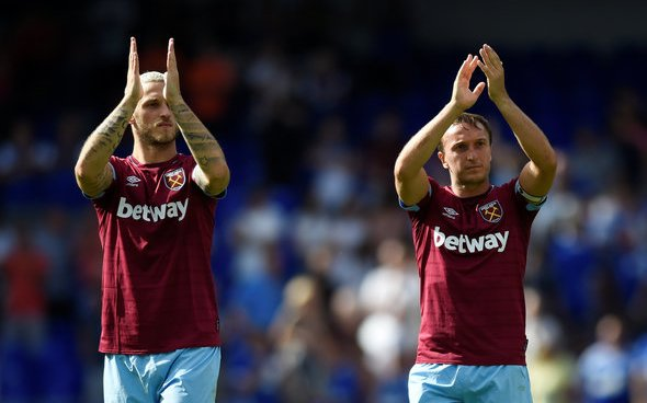 Image for Noble surely takes subtle dig at Arnautovic