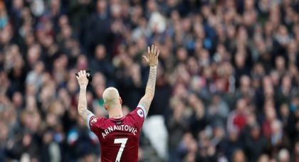 Arnautovic will be back in one to two weeks