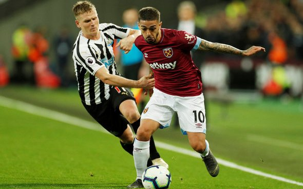 Image for West Ham open contract talks with Lanzini, Fenerbahce interested