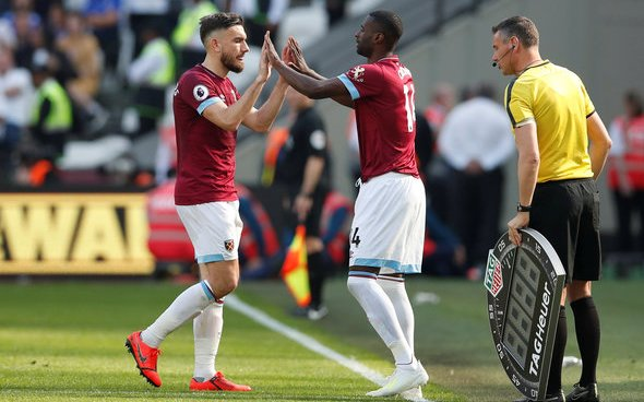 Image for West Ham demand £10m for Obiang