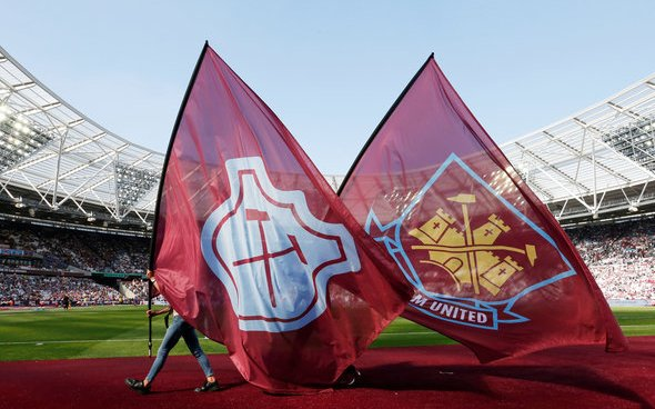 Image for West Ham fans look on the bright side of Storm Ciara