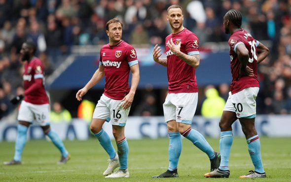 Image for West Ham fans react to Arnautovic exit rumours