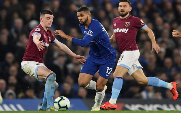 Image for West Ham fans of Twitter split on what Declan Rice will do in the summer
