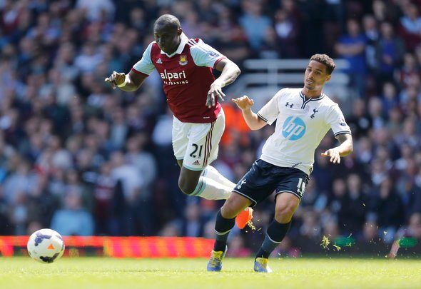 West Ham fans react to Diame links