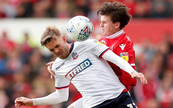 Image for West Ham must cash in on Forest's Byram interest