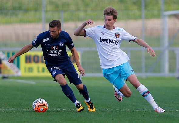 West Ham receive no firm interest in Samuelsen