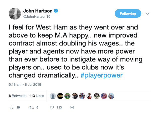 'I feel for West Ham' - Hartson has his say as he laments how things have 'changed dramatically'