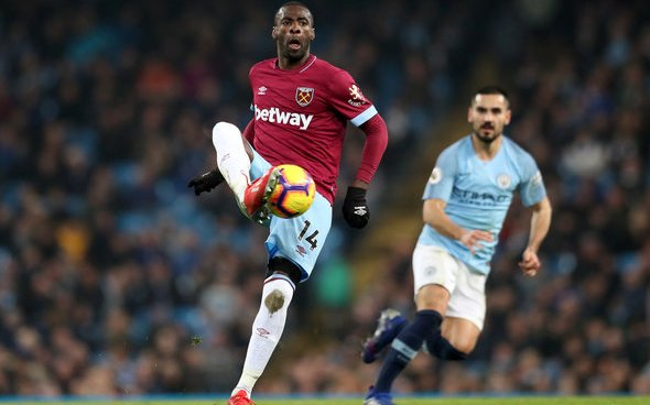 Image for Obiang sends West Ham message