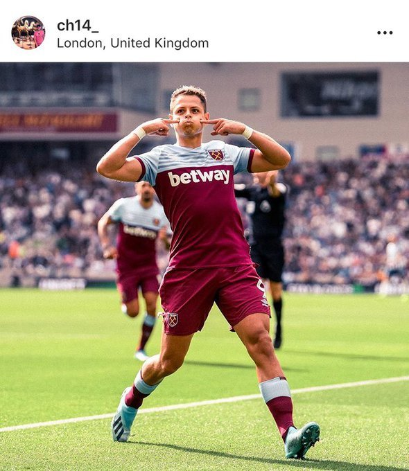 Adrian tips success for West Ham player in seven-word Instagram message