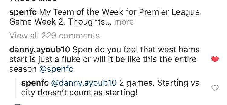 Spencer Owen responds after fan asks if current West Ham form is 'just a fluke'