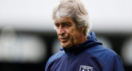 Pellegrini cuts days off for West Ham squad