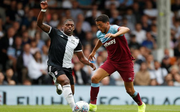 Image for Fornals sends Lanzini a message