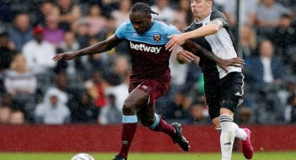 Antonio availability v Spurs in doubt