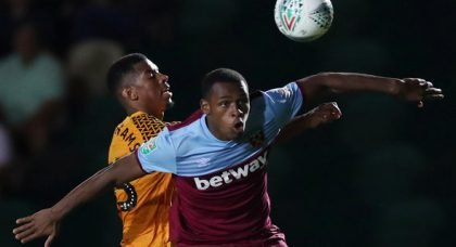 West Ham predicted starting XI v Norwich City