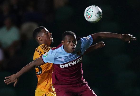 Image for Diop struggles v Newport demonstrate centre back problem