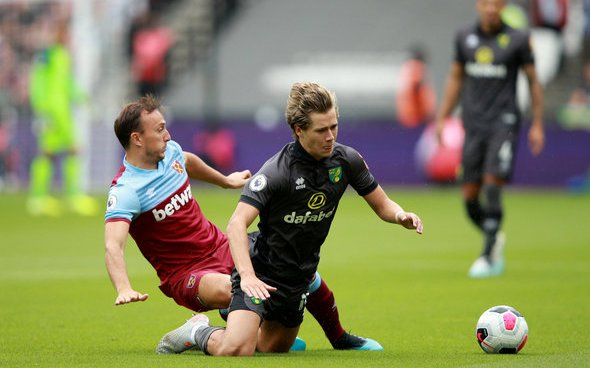 Image for Paul Merson Says West Ham are Lost Without Mark Noble On The Pitch