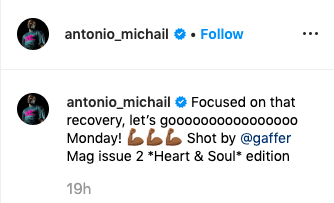 Antonio delivers Instagram message to West Ham fans