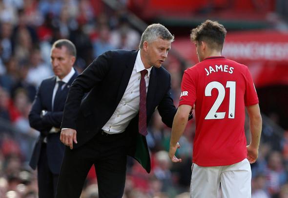 Image for Daniel James fit enough to make Man United squad v West Ham