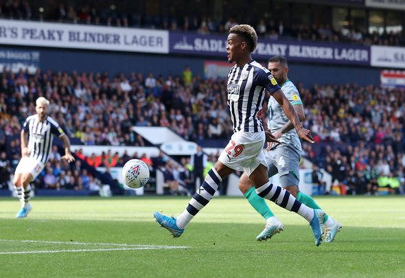 Diangana wants to stay at West Brom