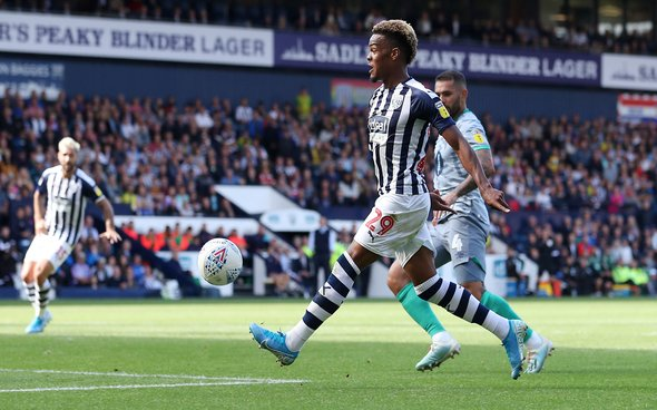 Image for West Ham fans in awe of Diangana display for West Brom
