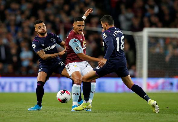 Image for West Ham fans rip Fornals apart v Villa
