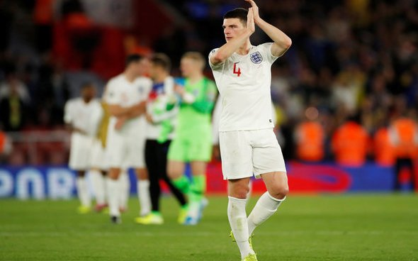 Image for Rice to miss England v Bulgaria with virus