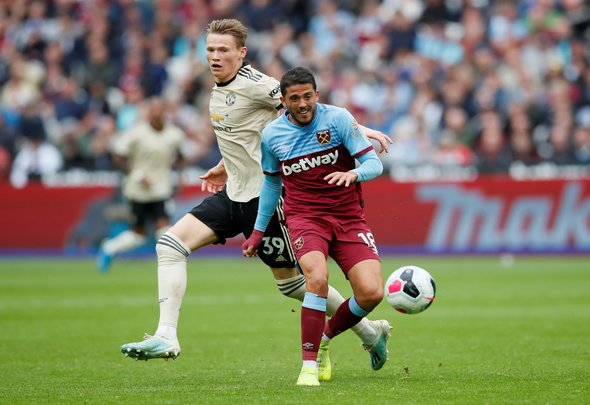 West Ham staff worried about Fornals being too weak for PL