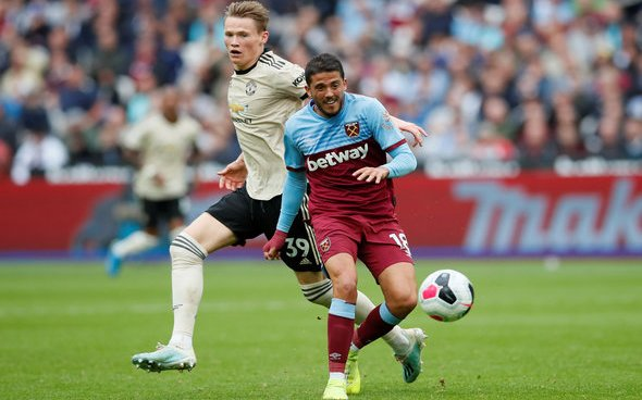 Image for West Ham fans don't think Pablo Fornals can reach Dimitri Payet's heights