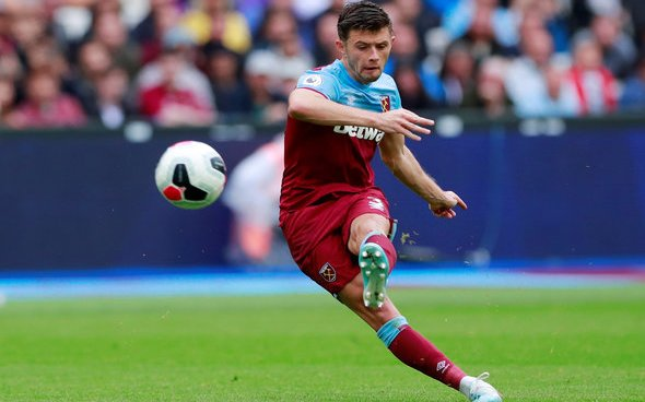 Image for West Ham fans react to Aaron Cresswell Twitter video